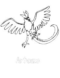 Small Picture Articuno Pokemon Coloring Page Articuno Pokemon Boys Coloring
