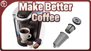 how to make a good cup of coffee with a keurig machine