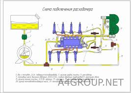 Проектирование АТП Диплом > Платные чертежи Чертежи Автомобили Схема подключения расходомера