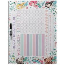 My Reward Board Mermaid Reward Chart Chore Potty Chart Dry Erase Board