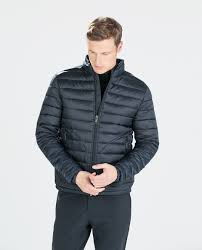 Lightweight Quilted Jacket Men | Customize Jacket & Zara Quilted Jacket in Blue for Men | Lyst Adamdwight.com