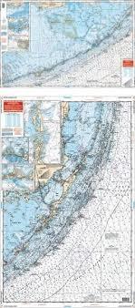 Noaa Chart 11452 Waterproof Charts Upper Florida Keys Nautical Marine Charts