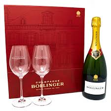 bollinger special cuvée gl giftset chagne