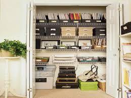 Great Office Closet Shelving Smart Home Office Closet Organization Ideas  Storage Ideas