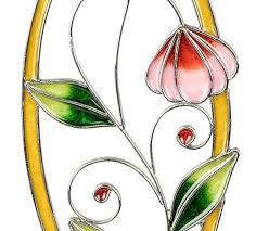 Amazonde Dekojohnson Moderne Fensterdeko Blume Fenster Hänger Deko