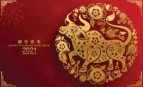 Some stars and chinese patterns also make it more festive. Happy Chinese New Year 2021 Images Chinese New Year Calendar Chinese New Year Card Happy Chinese New Year