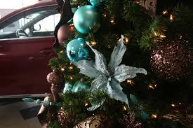 ... Tiffany Blue & Chocolate Brown Christmas Decorations | by Christmas  Specialists