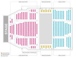 Chrysler Hall Seating Chart Seating Chart