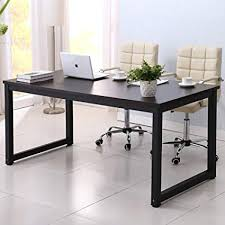 large desks for home office. Home Office Desk, 63in Writing Desks Large Study Computer Table  Workstation,Black Wooden Top Large Desks For Home Office P