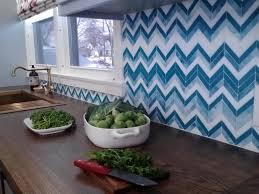 Unique Kitchen Countertop Unique Kitchen Backsplash Magnificent Geometric Design Brown