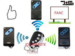 title faac garage door remote dip switch