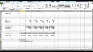 Budget Layout Excel Capital Budgeting In Excel Example
