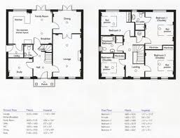 house floor plans 2 story 4 bedroom 3 bath plush home ideas inspiring house plans 4