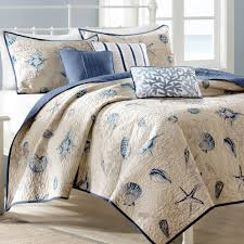 enjoyable king coverlet with nautical bed theme design