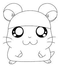 Small Picture Hamster coloring page Animals Town animals color sheet