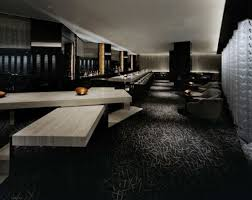interior: Amazing Home Bar Interior Idea With Dark Nuanced Feat Black  Accents Rugs And Awesome
