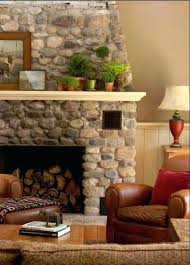 faux river stone fireplace fireplaces makeovers rock electric potomac potomac faux river rock electric fireplace
