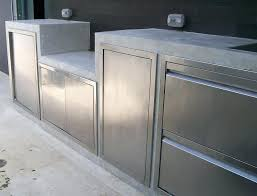 stainless steel cabinets outdoor for kitchen singapore cabinet doors canada