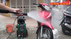 Máy rửa xe Bosch Easy AQT 120 áp lực phun mạnh, bình phun xà phòng bọt  tuyết - YouTube