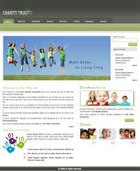 Charity Trust Template Free Website Templates