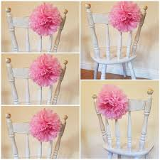 Tissue Paper Flower Decorations Wedding Party Chair Tissue Paper Flower Decorations 8inch Etsy