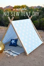 simple no sew diy kid s tent momma society mommasociety com