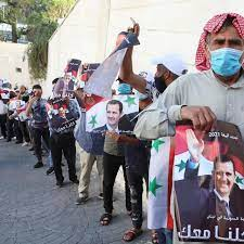 لبنان: مئات اللاجئين السوريين يتدفقون إلى سفارة بلادهم للمشاركة في  الانتخابات الرئاسية
