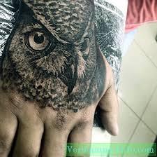 Eagle Owl Tetování Pro Nejinteligentnější A Stylové Grafologii