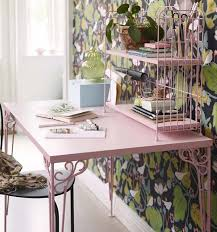 available in white or powder pink the falkhöjden desk 80 has charm to