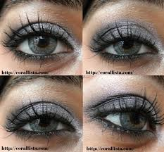 a l oreal paris eye makeup tutorial silver and black y eyes