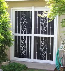 security screen doors for double entry patio door security hardware sliding glass door parts