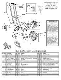 earthway garden seeder 1001b manual garden harvest supply