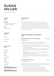 Value Statement Example For Resumes Small Business Owner Resume Writing Guide Resumeviking Com