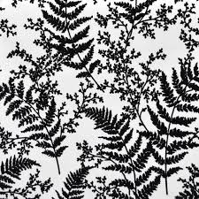 black and white wallpaper pattern. By Joanna Gaines Forest Fern Flock Wallpaper In Black From Magnolia Home Vol For And White Pattern