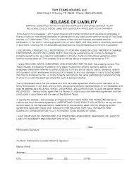 Agreement Template Free Beauteous Release Waiver Template Betondireklitel