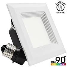 recessed square lighting. 9w 4inch high cri dimmable retrofit led recessed lighting fixture square shape 60w halogen equivalent 2700k warm white ulclassified ceiling i