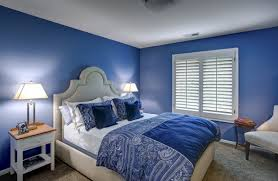 Blue Bedrooms Simple Decorating