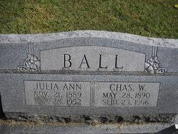 Charles Wesley Ball (1890-1966) - Find A Grave Memorial