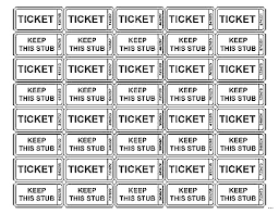 Calendar Raffle Template Printable Raffle Ticket Template Microsoft Download Them Or Print