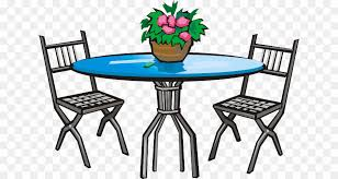 Patio Furniture Clip Art Png Table Garden Furniture Clipart