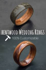 Mens Bentwood Wedding Bands These Wood Rings Are 100