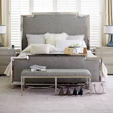 metal upholstered bed. Fine Metal Criteria Metal U0026 Upholstered Panel Bed In R