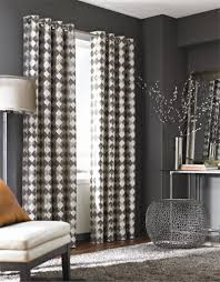 Modern Curtain Panels For Living Room Palisade Tile Curtain Panel Bestwindowtreatmentscom Metal