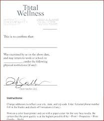 Doctor Excuse Note Template Awesome S Templates For Work New