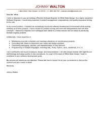 Software Engineer Cover Letter Entry Level Software Engineer Cover