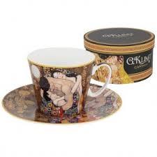 Чашка с блюдцем <b>Семья (Г.Климт</b>) от Carmani в магазине ...