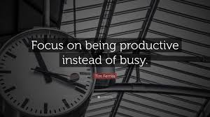 Focus Quotes
