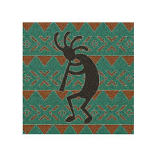 turquoise kokopelli rustic southwest wood wall art on southwestern wood wall art with southwest wood wall art zazzle