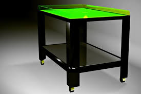 neon furniture. Furniture: Acrylic Coffee Table In Neon Green Furniture