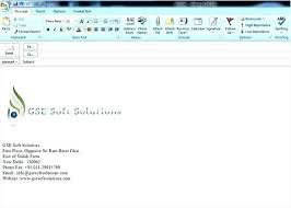 Email Templates In Outlook 2010 Template Email In Outlook 2010 Vivafashion Info